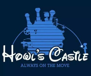 howl's moving castle and disney image