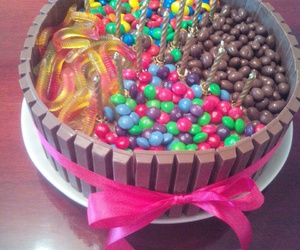 birthday cake, sweets, and cake image