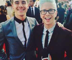 connor franta, tyler oakley, and youtubers image