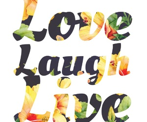 laugh, life, and live image