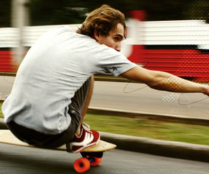 carving, longboard, and longboarding image