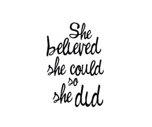 quote, believe, and motivation image