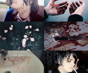 aesthetic, gerard way, and mcr image