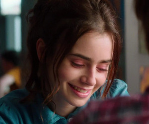 lily collins, icon, and love rosie image