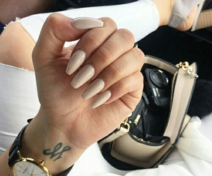 chic, nails, and fashion image