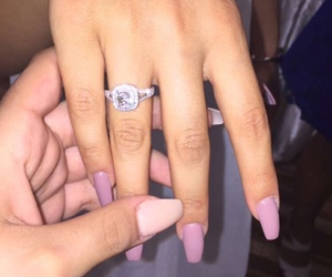girly, nails, and cute image