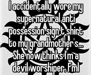 accurate, funny, and supernatural image