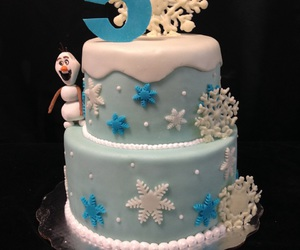 cake, frozen, and pastry image