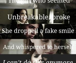 broken, sad, and hale image