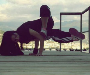 breakdance, dance, and dancer image