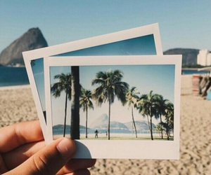 beach, pictures, and sand image