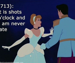 alcohol, drunk, and cinderella image