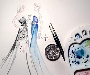 art, design, and sparking image