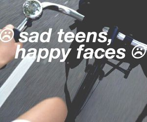 sad, teens, and grunge image