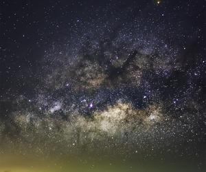 galaxy, beautiful, and night image