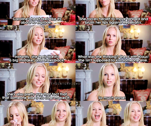 the vampire diaries, tvd, and candice accola image