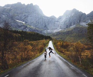 nature, adventure, and mountains image