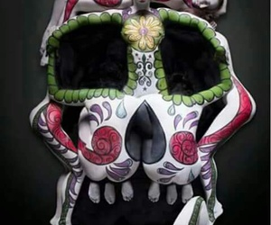 sugarskull, trip, and likeit image