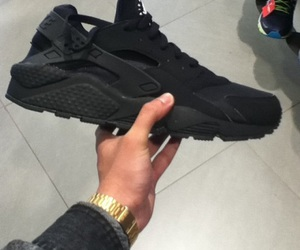 black, huarache, and shoes image