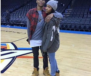russell westbrook and nina westbrook image