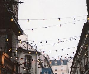 light, street, and vintage image