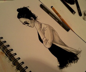 *-*, beautiful, and pencils image