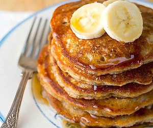food, pancakes, and sweets image