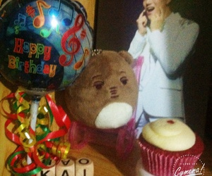 bday, jongin, and kai image