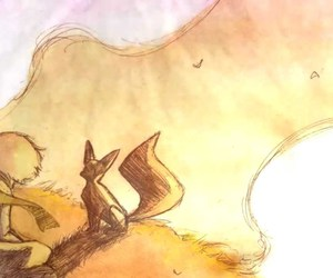 fox, little prince, and zorro image