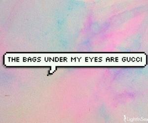 gucci, bag, and eyes image