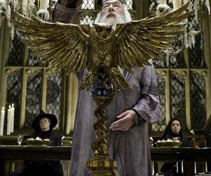 harry potter, hogwarts, and albus dumbledore image
