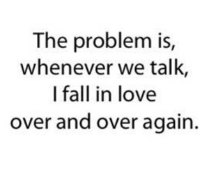 quote and fall in love image