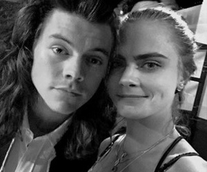cara delevingne, Harry Styles, and ❤ image