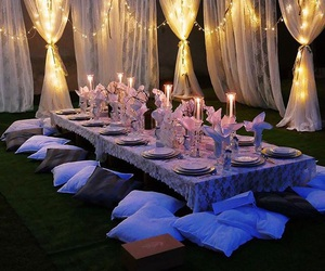 gathering, party, and romantic image