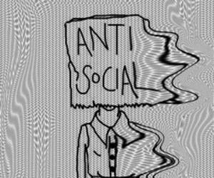 grunge, antisocial, and tumblr image