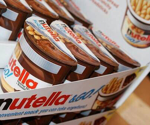 chocolate, nutella, and sweet image