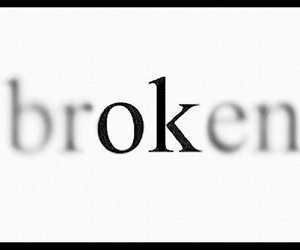 broken, Liars, and ok image