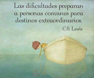 frases, c.s. lewis, and dificultades image
