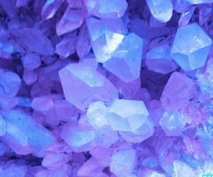 purple, crystal, and background image