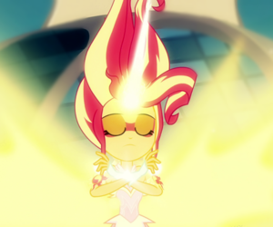 my little pony and daydream shimmer image