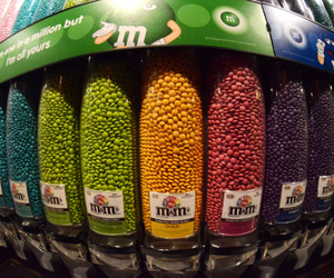 food, m&m, and sweet image