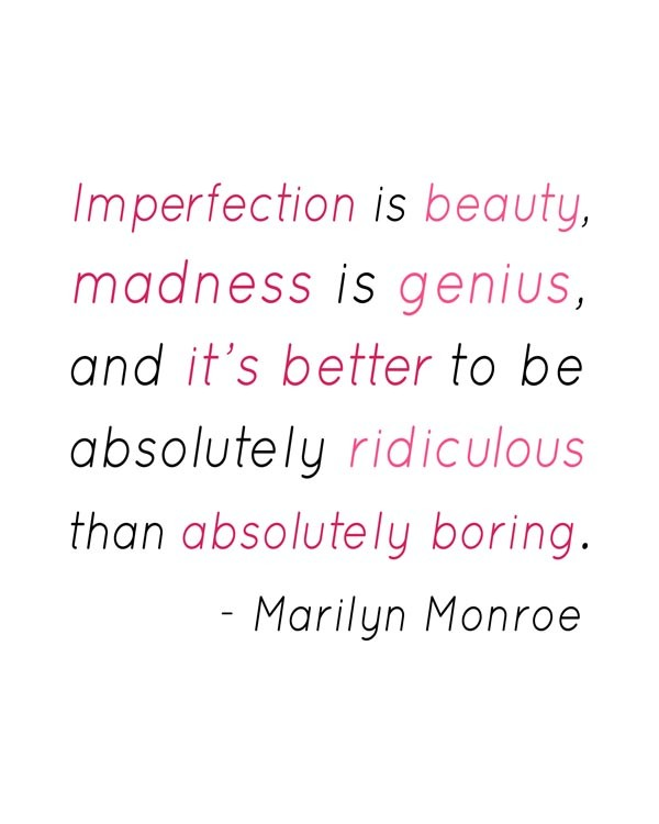 Quotes About Imperfection | 32 Images About Quotes On We Heart It See More About Quote Text