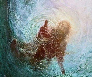art, Christ, and rescue image