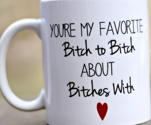 best friends, funny, and mug image