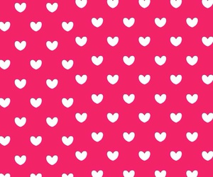 hearts, pink, and wallpapers image