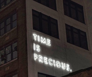 neon, quotes, and time image