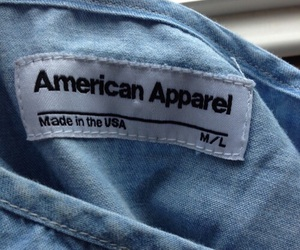 blue, american apparel, and tumblr image