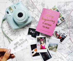 travel, photo, and polaroid image
