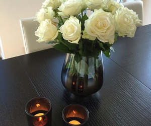 flowers and table image