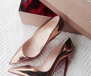 Dream, gold, and louboutin image